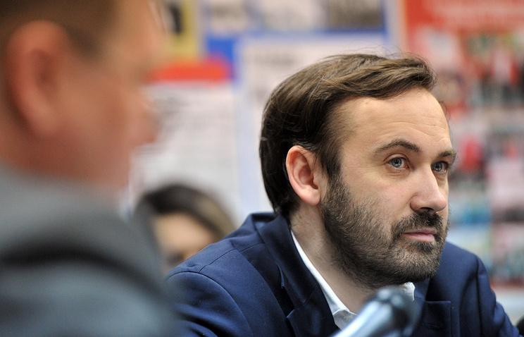 Депутат Госдумы Илья Пономарев