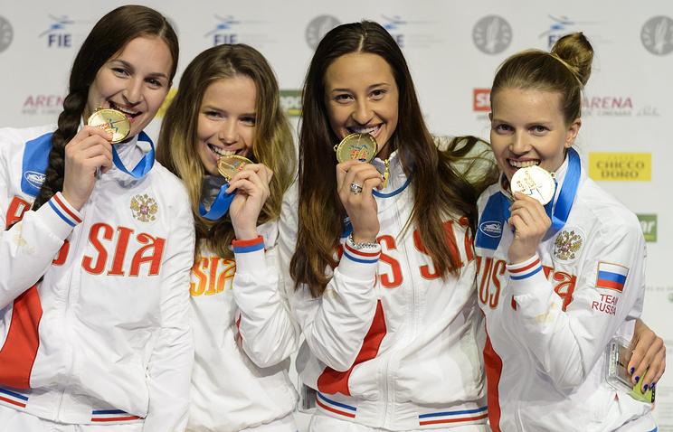 Юлия Гаврилова,Софья Великая, Яна Егорян и Екатерина Дьяченко