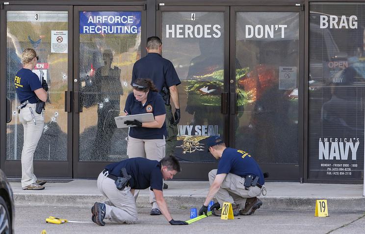 ФБР на месте происшествия
