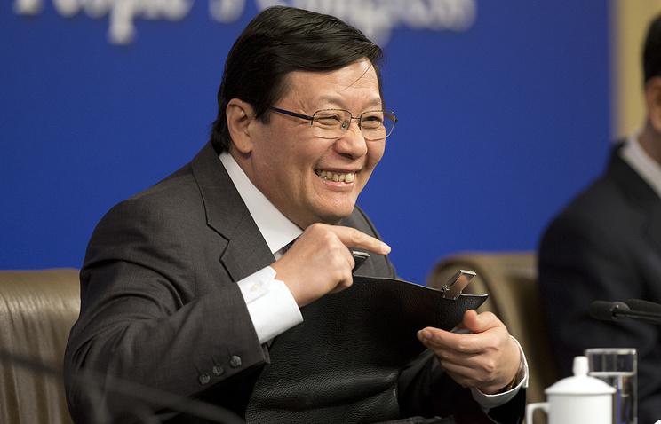 Министр финансов КНР Лоу Цзивэй