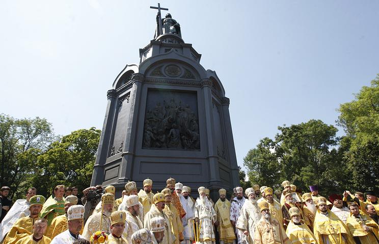 Празднования Крещения Руси в Киеве. 2014 год