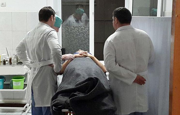 Пострадавший в ДТП в Веденском районе Чечни