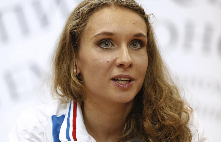 Трехкратная олимпийская чемпионка Наталья Ищенко
