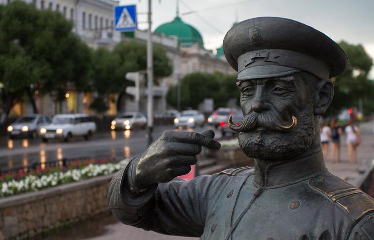 Памятник городовому в Омске