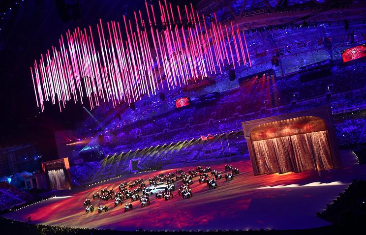Церемония закрытия зимних Олимпийских игр 2014 года в Сочи