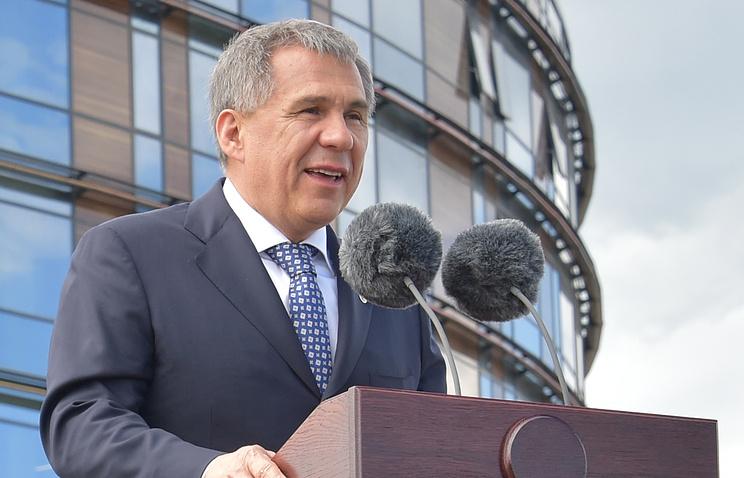 Врио президента Татарстана Рустам Минниханов