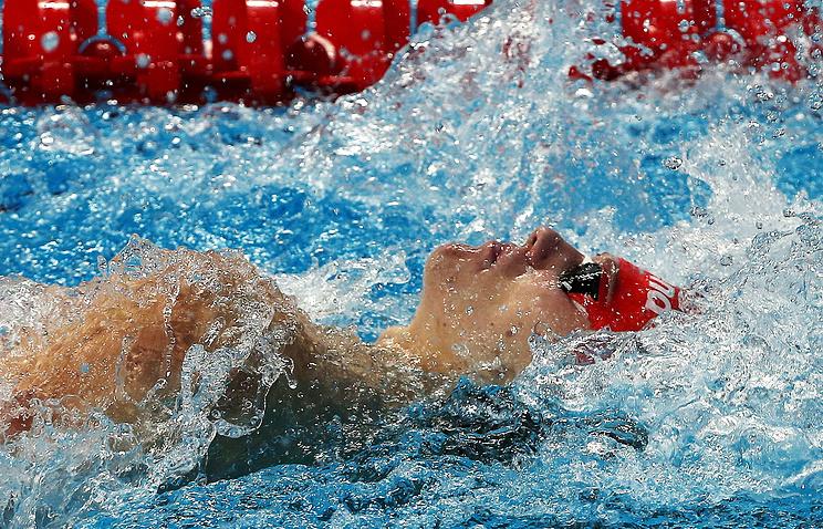 Российский спортсмен Григорий Тарасевич