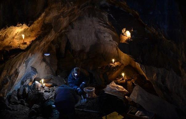 """Во время экспедиции уральских археологов в национальном парке """"Башкирия"""""""