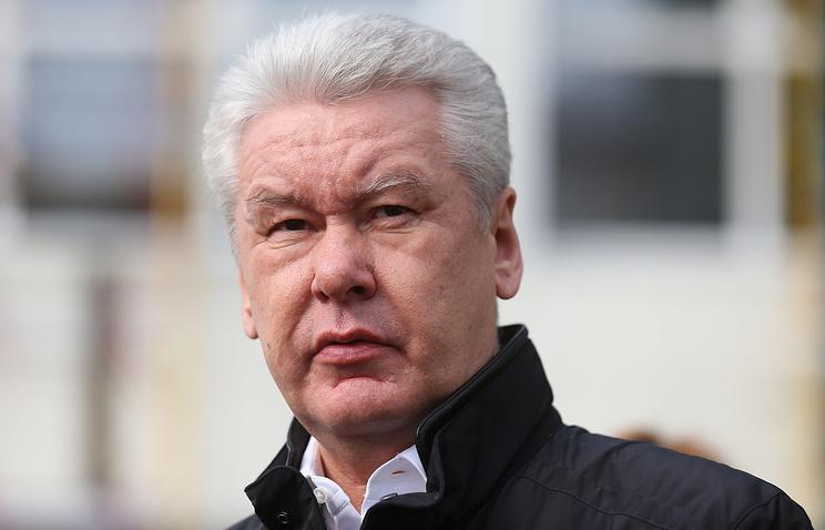 Мэр Москвы Сергей Собянин