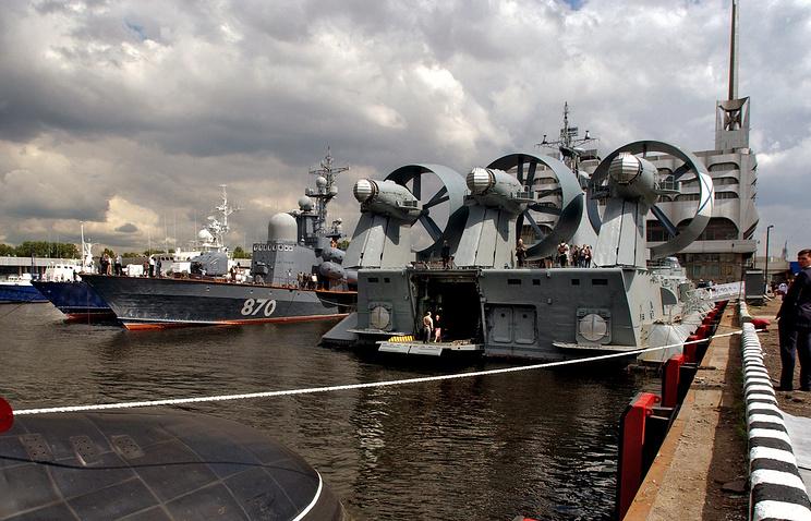 """Десантный корабль на воздушной подушке """"Мордовия"""", архив"""