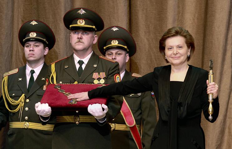Архив. Церемония инаугурации губернатора ХМАО-Югры Натальи Комаровой. 2010 год