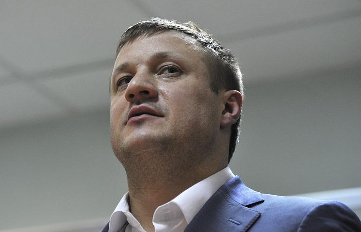 Вице-губернатор Челябинской области Николай Сандаков, подозреваемый в получении взятки, во время избрании меры пресечения в Ленинском районном суде