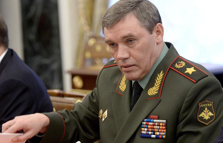 Первый заместитель министра обороны РФ, генерал армии Валерий Герасимов