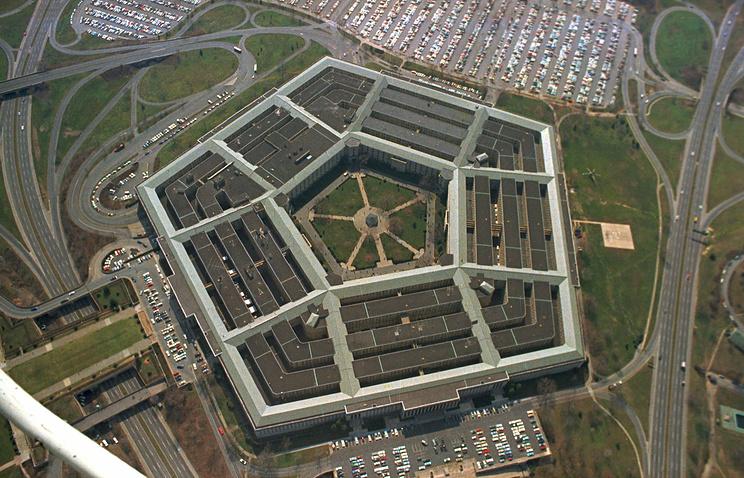 Здание Пентагона, архив
