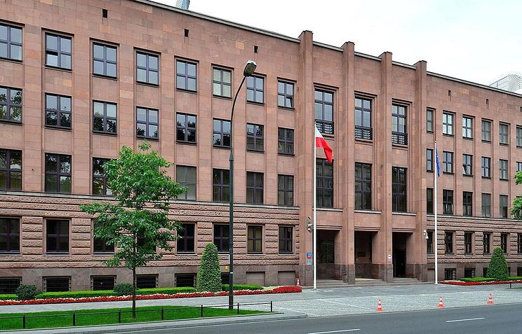 Здание МИД Польши