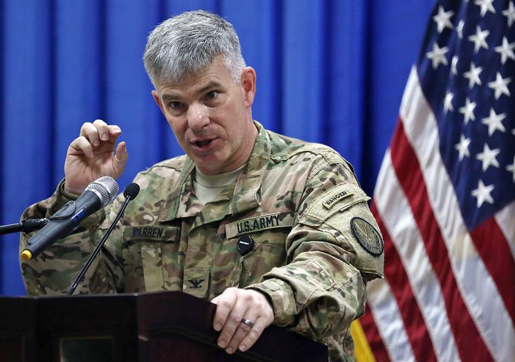 Официальный представитель министерства обороны США полковник Стив Уоррен