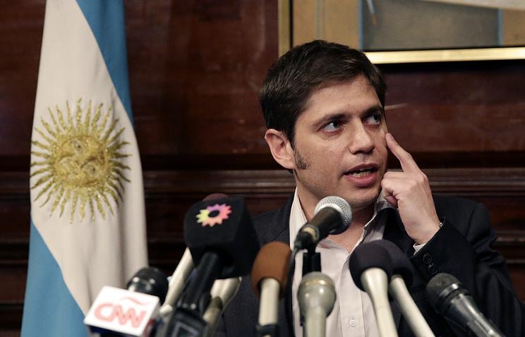 Министр экономики и финансов Аргентины Аксель Кисильоф.