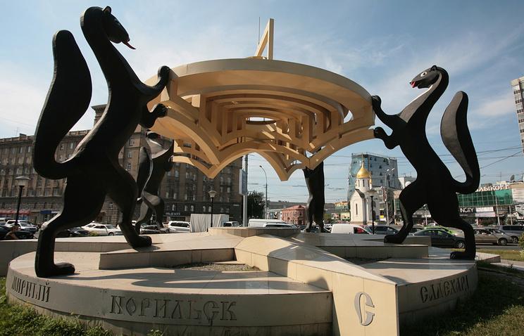"""Скульптурная композиция """"Сибирские просторы"""" в Новосибирске"""