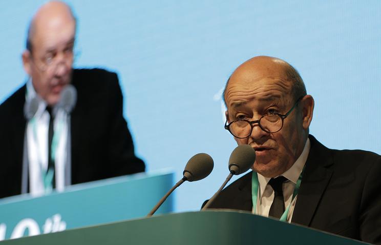Министр обороны Франции Жан-Ив Ле Дриан