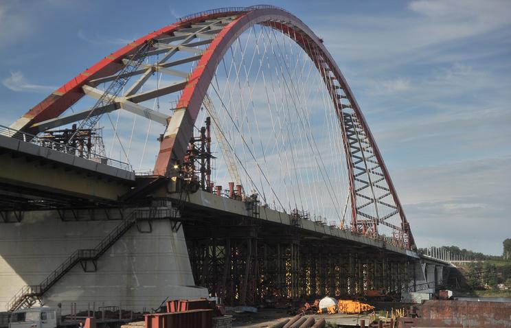 Бугринский (Оловозаводской) мост через Обь