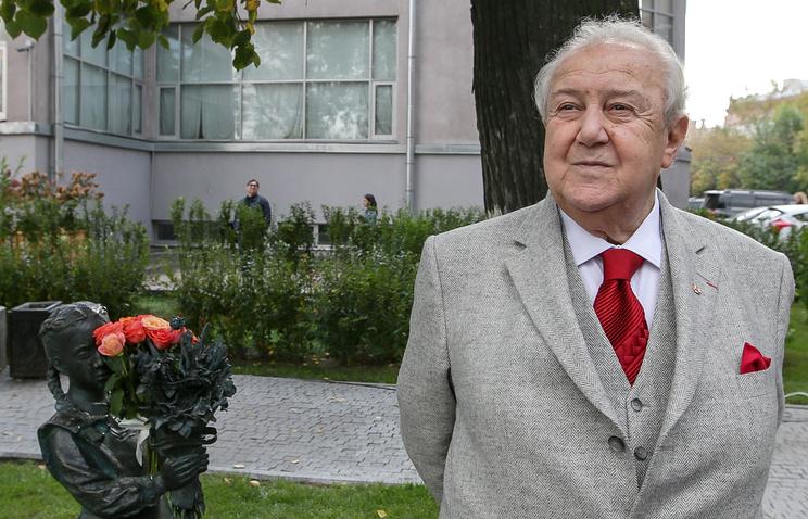 Президент Российской академии художеств, скульптор Зураб Церетели