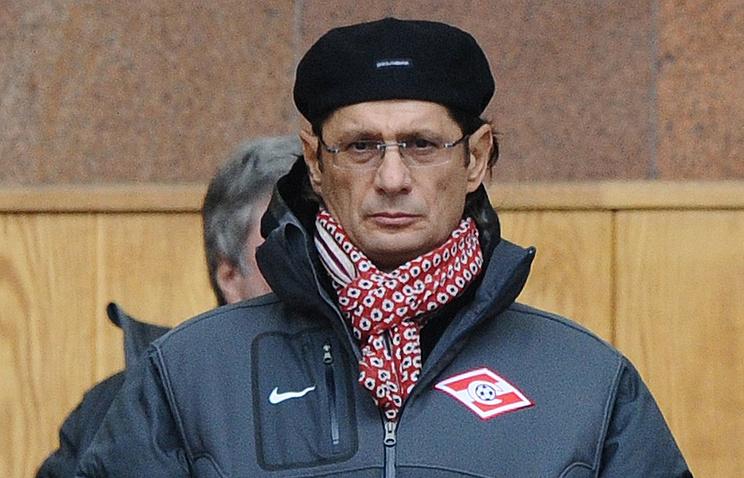 Леонид Федун на матче чемпионата России по футболу