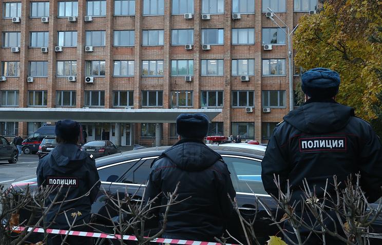 Здание администрации Красногорска, где были убиты Юрий Караулов и Георгий Котляренко
