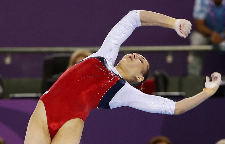 Обладательница двух серебряных медалей Олимпийских игр-2012 россиянка Виктория Комова