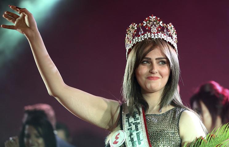 Победительница конкурса красоты в Ираке Шальма Абдельрахман