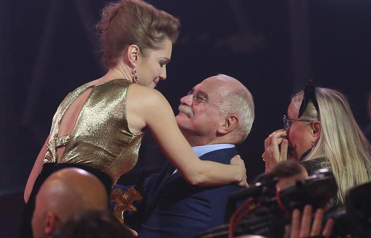 Никита Михалков на церемонии вручения премии'Золотой орел- 2016