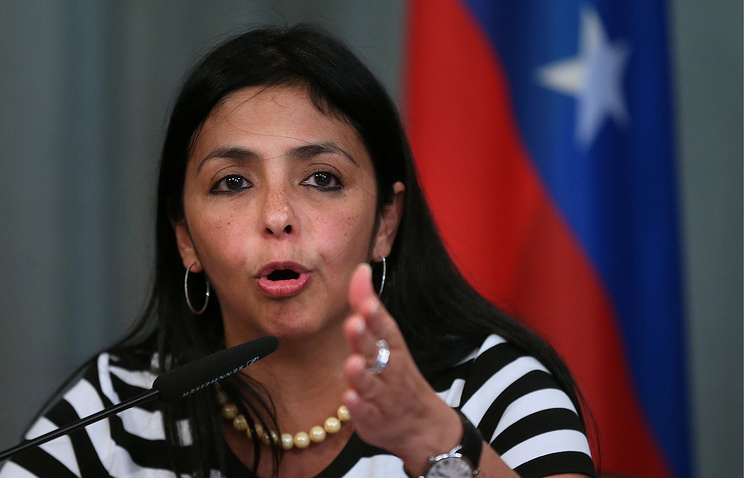 Министр иностранных дел Боливарианской Республики Венесуэла Делси Родригес