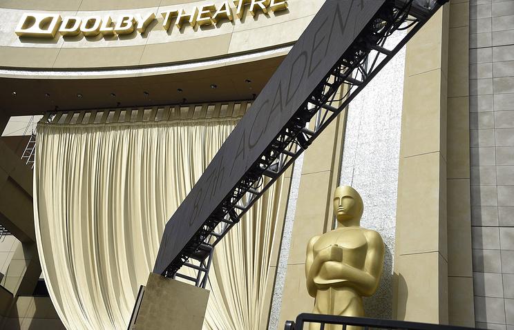 """Подготовка к церемонии вручения кинопремии """"Оскар"""" в Лос-Анджелесе"""
