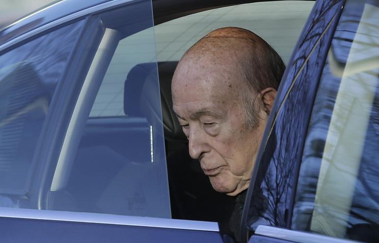 Бывший президент Франции Валери Жискар д'Эстен