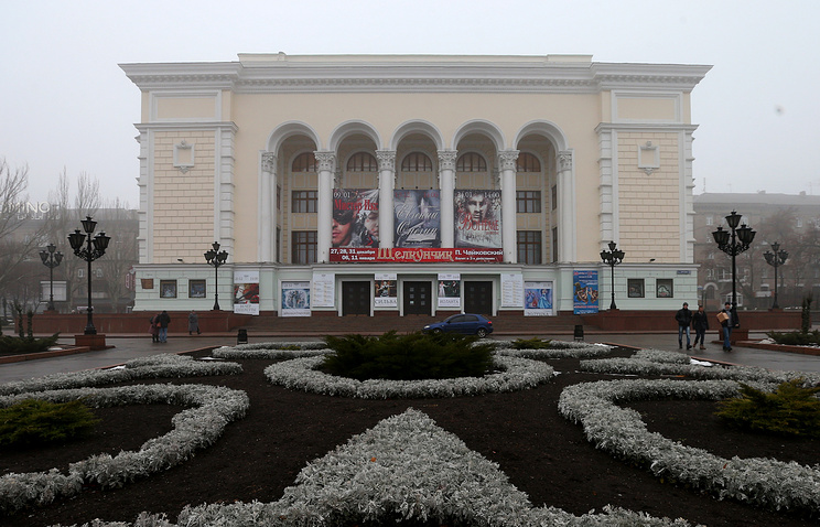 Здание Донецкого национального академического театра оперы и балета имени А.Б. Соловьяненко