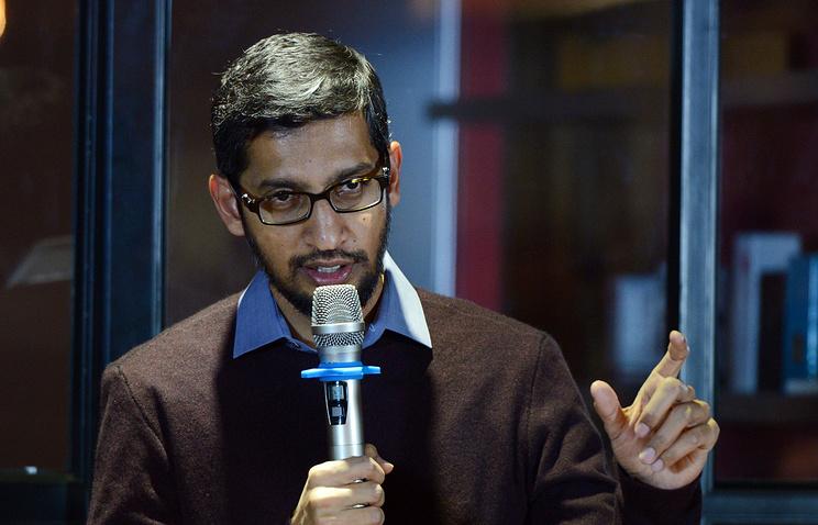 Генеральный директор Google Сундар Пичаи