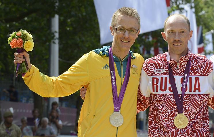 Джаред Таллент и Сергей Кирдяпкин