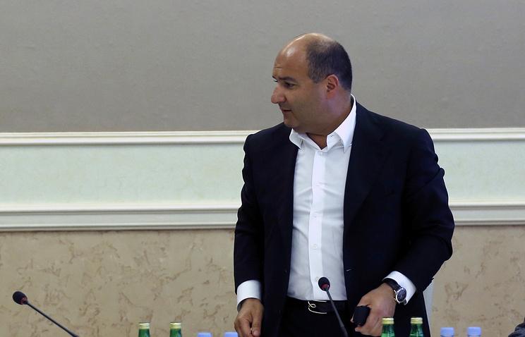 Президент Федерации бобслея России Георгий Беджамов