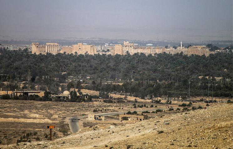 Пальмира, 25 марта