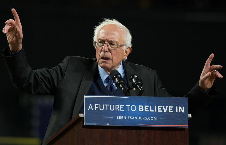 Сандерс победил Клинтон напервичных выборах президента некоторых штатах США