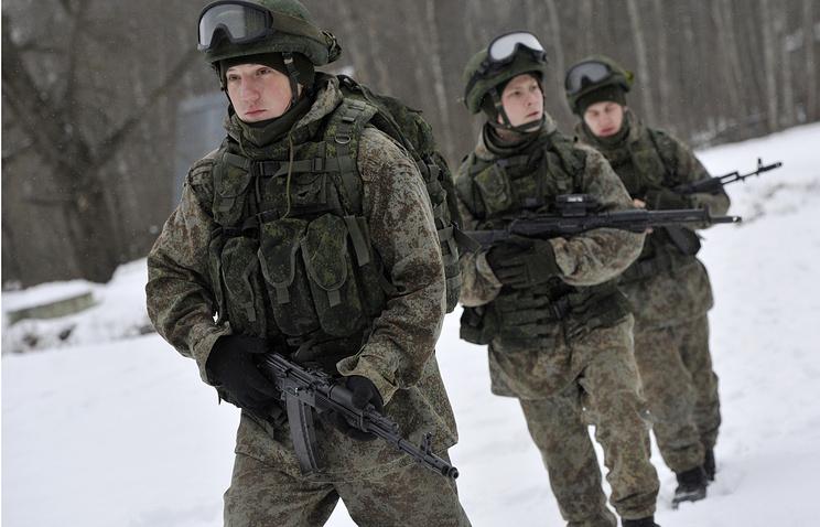 Испытания перспективных элементов боевой экипировки военнослужащих Сухопутных войск