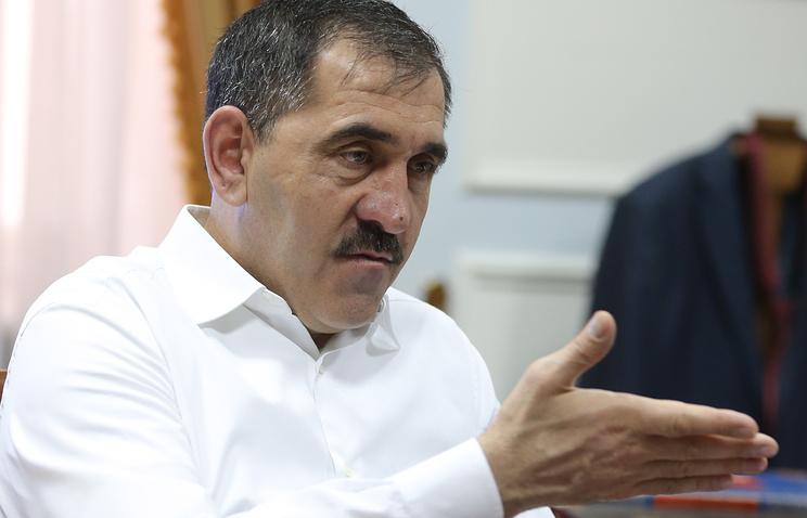 Глава Ингушетии Юнус-Бек Евкуров