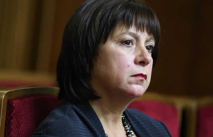 Бывшая министр финансов Украины Наталия Яресько