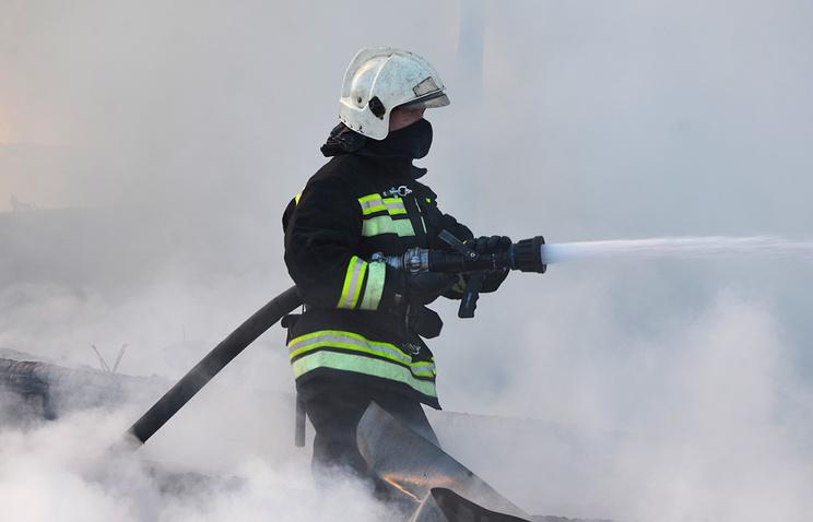 Пожар вдепо наБалтийском вокзале локализовали зачас