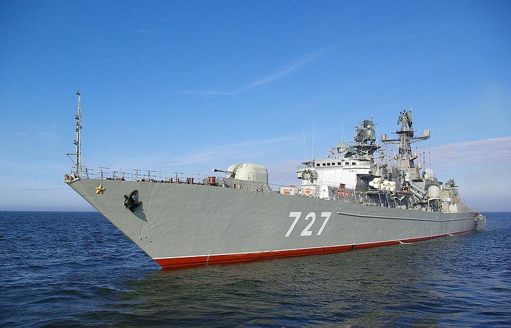 Пентагон обвинил русский военный корабль вподаче ложного сигнала
