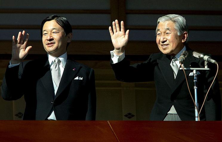 Император Японии собирается отречься отпрестола впользу сына