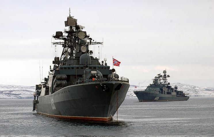 """БПК """"Адмирал Чабаненко"""" и БПК """"Адмирал Левченко"""" - большие противолодочные корабли, предназначенные прежде всего для борьбы с подводными лодками противника в океане"""