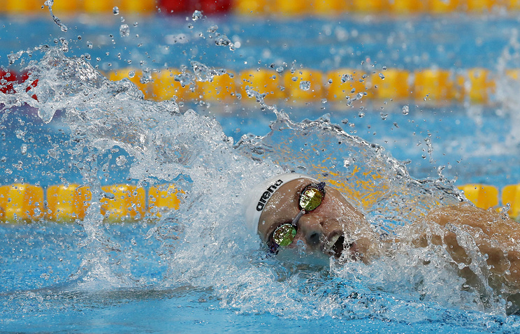 Россиянки прошли вфинал олимпийского турнира поплаванию вэстафете