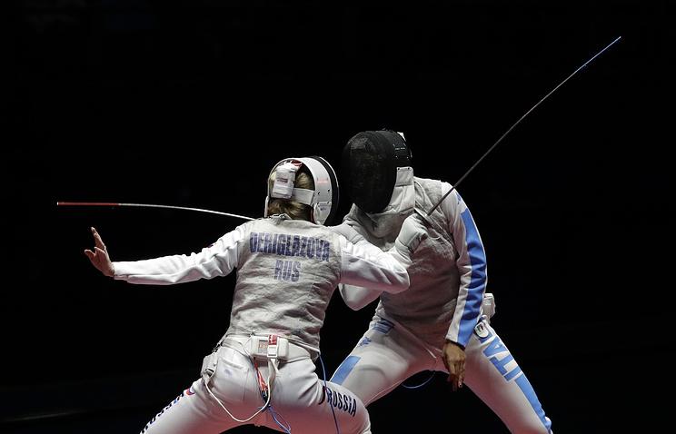 Рапиристка Дериглазова выиграла золото Игр, невзирая на«панику»