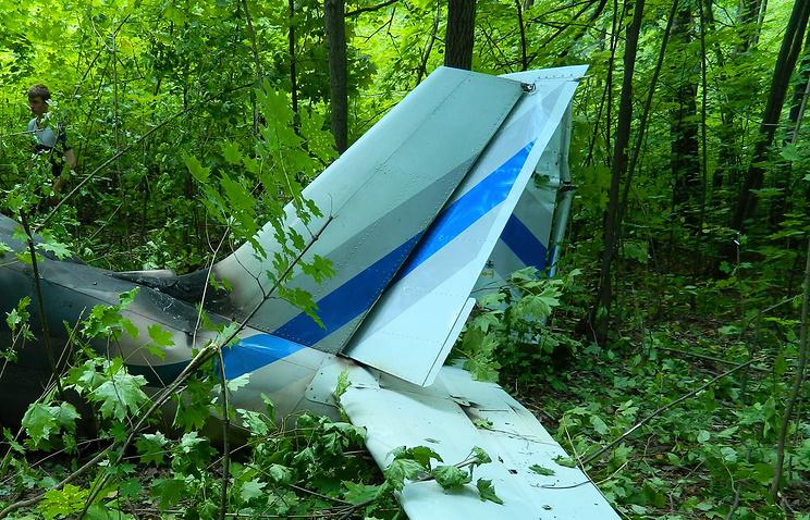 ВАлтайском крае разбился самолет Ил-103, пилот умер