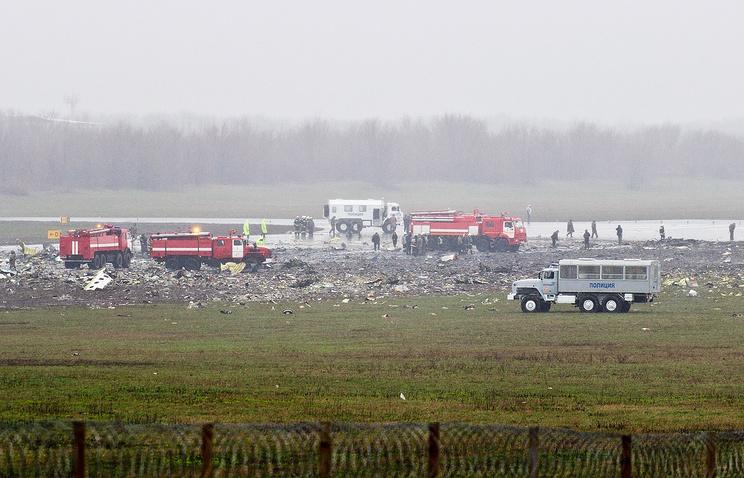 СКР пообещал скорое окончание расследования катастрофы Boeing 737 FlyDubai